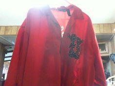 Wingo Hawaiian Shirt Red Dragon  Polyester XXL #Wingo #Hawaiian