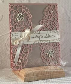 So Detailed Thinlits Dies and the Falling In Love Designer Paper