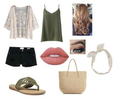 """""""Untitled#4"""" by arfinch05 ❤ liked on Polyvore featuring Jigsaw, Frame Denim, MIA, Carole, Lime Crime and Target"""