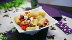 Viaggio Di Gusto: Insalata di pasta con feta e citronette alla senap...