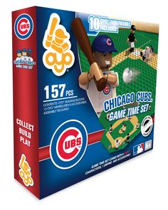 Chicago Cubs 157 piece Game Time Field Set