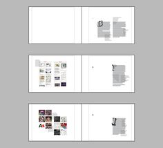 (First 3 pages) I have at this stage completed writing the content and the overall layouts for all the pages and spreads. I have gradually developed and refined the text and image to what I consider to be a clear and ordered design, with interesting content based highlights. The majority of text is set on the right hand page awaiting the addition of the transparent red page inbetween, so the red text is hidden.