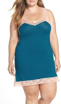 009f91181fedc Honeydew Intimates Ahna Chemise Trendy Plus Size Fashion