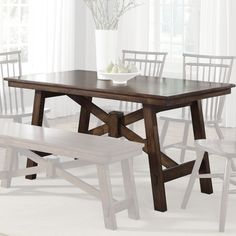 wanting a farmhouse table with benches to alter.
