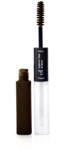 e.l.f. Studio Eyebrow Treat & Tame in Deep. the gel is colored, so it makes it easy and fast to use.