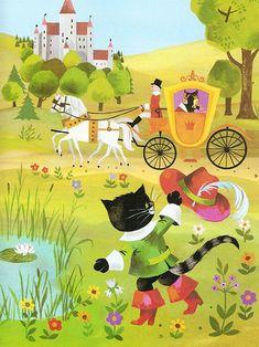 Diese Einzelausgabe des Märchens Der gestiefelte Kater, illustriert von Gisela Gottschlich, erschien 1980 im Pestalozzi-Verlag, in der Reihe Pevau-Büchlein. Später wurden Gottschlichs Illustrationen immer wieder für verschiedene Sammelbände des Pestalozzi-Verlages verwendet.