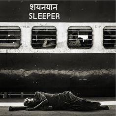 Alexander Gubin #sleep #railway