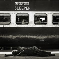 Alexander Gubin #sleep #railway