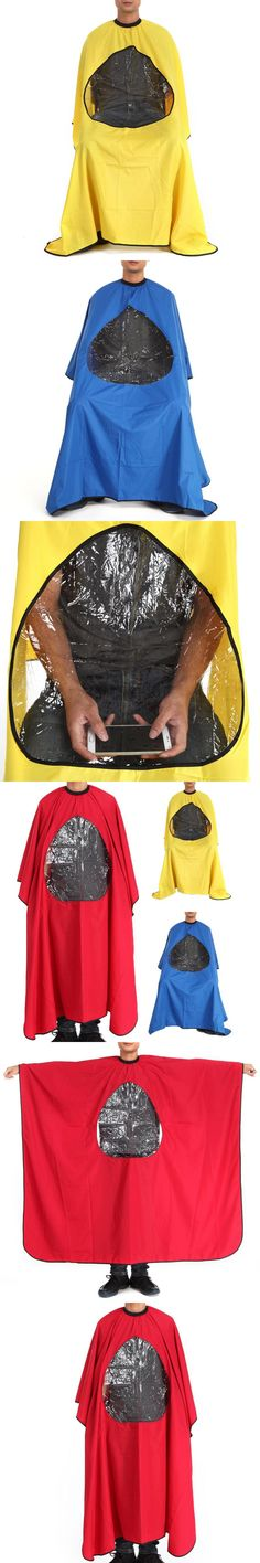 New Waterproof Hairdresser Cape Gown Cloth Cutting Hair Cloth Salon Barber Gown Cape Hairdressing Hair Care Capes