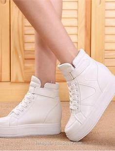 Giày WM 413- Giày thể thao đế bánh mì cá tính màu trắng