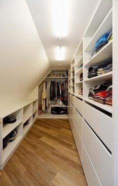 6 All Time Best Tricks: Attic Conversion Master Suite attic remodel design.Attic Home Ideas attic balcony modern. Attic Wardrobe, Attic Closet, Attic Playroom, Attic Rooms, Attic Spaces, Attic Bedroom Designs, Entryway Closet, Wardrobe Drawers, Ikea Closet