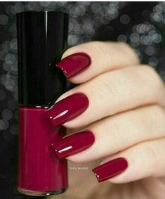 A manicure is a cosmetic elegance therapy for the finger nails and hands. A manicure could deal with just the hands, just the nails, or Elegant Nails, Classy Nails, Stylish Nails, Sophisticated Nails, Love Nails, Pretty Nails, Nail Paint Shades, Nagellack Design, Burgundy Nails