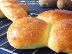 pain moelleux à la pomme de terre