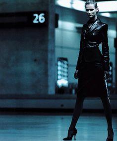 Carmen Kass in 'Classe Affaires' by Sean Ellis for Numéro #16.
