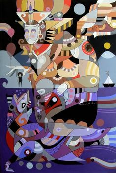 Machas Artist Fernando Chamarelli intricate illustration! #fernandochamarelli #illustration