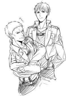 Best team, Reiner and Bertholdt