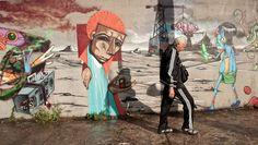 Graffiti in Sao Paulo, by Iskor (Felipe Arantes Silva)