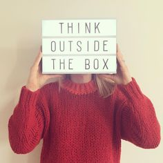 """Going to try and think outside the box this weekend in Paris. can't wait to see what you've got to offer. Cinema Light Box Quotes, Cinema Box, Marquee Sign, Marquee Lights, Lightbox Letters, Lightbox Quotes, Led Light Box, Light Board, Boxing Quotes"