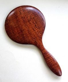 Spalted Fiddle Back Koa Hand Mirror by UpcountryDesign on Etsy