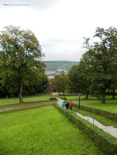 On the way to the Marienberg fortress