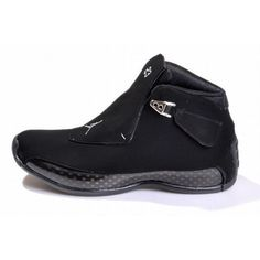 4af753f81a1ae all black michael jordan 18 men shoes ❤ liked on Polyvore featuring men s  fashion