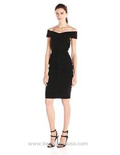 Nicole Miller Women's Off Shoulder Structured Heavy Jersey Dress  http://www.bestdressusa.com/nicole-miller-womens-off-shoulder-structured-heavy-jersey-dress/