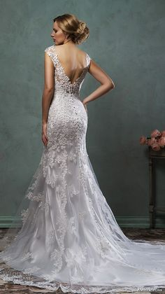 Amelia Sposa 2016 Wedding Dresses | Wedding Inspirasi #amelia