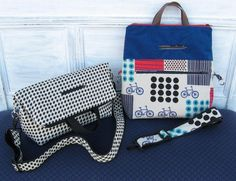 Suit Yourself Tote and Shoulder Bag Pattern | PatternPile.com