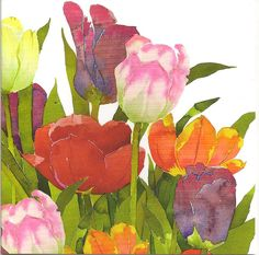 Tulips by Mary Ann Rogers