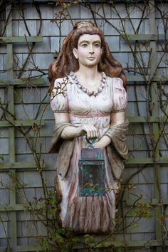 Eight Bells Carving - This figurehead which was featured in Claire Murray's book sold last week. She was on my own home on Nantucket since she was carved. She will be missed! —  Dee Eckersley Unruh.
