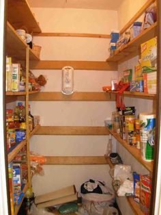 maxresdefault small kitchen pantry ideas stronggymco design home Pantry Shelving, Pantry Storage, Kitchen Shelves, Storage Shelves, Shelving Ideas, Small Kitchen Pantry, Best Bedroom Colors, Article Design, Kitchen Equipment