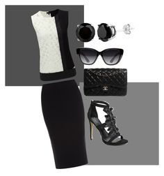 """""""It works#6"""" by tiffydarling on Polyvore featuring Roland Mouret, Joseph, Bebe, Chanel and Elizabeth and James"""