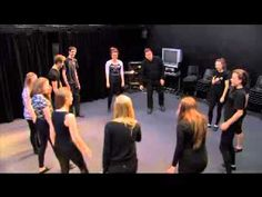 Theatre Game #5 - Energy Circle. From Drama Menu - drama games & ideas for drama. - YouTube