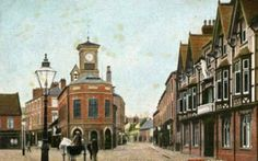 Brigg Town Hall & Angel Hotel 1907 1 Large.jpg 1,024×640 pixels