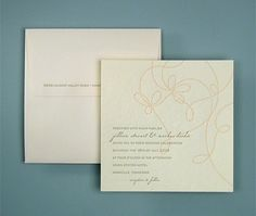 letterpress - classic wedding | oblation papers & press