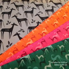 greyhound patterns / Windhund-Muster © lobitos