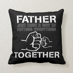 Happy Father's Day Cool Creative Design Throw Pillow  unique fathers day gifts ideas, fathers day gifts for kids to make, diy gifts dad #stayup #stayready #stayhumble Easy Fathers Day Craft, Homemade Fathers Day Gifts, First Fathers Day Gifts, Diy Father's Day Gifts, Father's Day Diy, Mothers Day Presents, Dad Bday Gift, Birthday Gifts For Best Friend, Best Friend Gifts