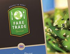 """Check out new work on my @Behance portfolio: """"Fare Trade gourmet frozen foods concept"""" http://on.be.net/1YaiKek"""