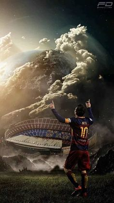 "Lionel Messi (Barcelona ""Mes Que Un Club"") Neymar, Cr7 Messi, Messi And Ronaldo, Ronaldo Real, Cristiano Ronaldo, Football Messi, Messi Soccer, Sports Football, Watch Football"