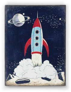 Sid Dickens Rocket. To purchase call NCH Galleries (951) 734-5989