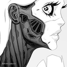 Cyberpunk 2077, Cyberpunk City, Arte Cyberpunk, Cyborg Girl, Female Cyborg, Arte Robot, Robot Girl, Japon Illustration, Cyberpunk Character