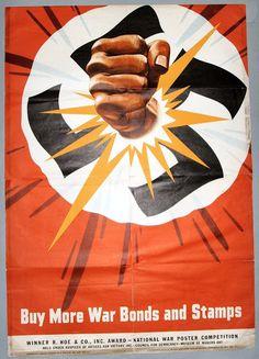 War bond poster ww2