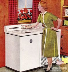 How to be a perfect fifties housewife: Laundry edition - Click Americana