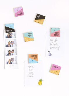 DIY Reminder Magnets (Free Printable!)