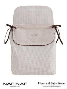 Quilted Pram Sleeping Bag NAF NAF   DREAMS BEIGE