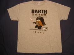 Darth Tater Idaho Grey T-Shirt - Star Wars Collectors Archive
