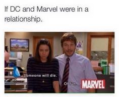 DC and Marvel XD