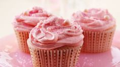 Pink Champagne Cupcakes Recipe - BettyCrocker.com