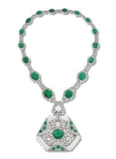 Collar de esmeraldas de Anita Delgado DINASTÍAS | Los Foros de la Realeza • Ver Tema - Lasjoyas de los maharajás
