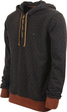 4520c868f89d5 RVCA Magia Hoodie - charcoal - Mens Clothing  gt  Hoodies Sweaters  gt   Hoodies  gt